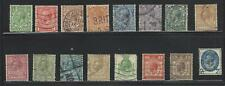 Vegas - 1924-29 Britain - Sc# 187-200, 205-208 - Used Full Sets! - (Dg21)