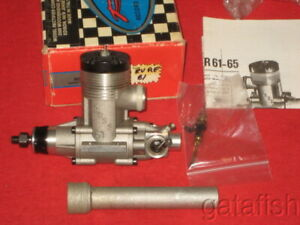 EXCELLENT ITALIAN ROSSI BYRON 81 RV RE R/C NITRO DUCTED FAN MODEL JET ENGINE