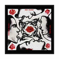 RED HOT CHILI PEPPERS Blood Sugar Sex Magik Woven Sew On Patch Official Merch