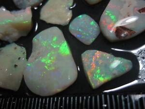 Lightning Ridge Opal 31 cts Rough Rubs J 297