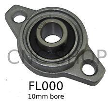 FL000 10mm PILLOW BLOCK FLANGE MOUNT BEARING SELF ALIGNING KFL000 BLOCK CNC BALL