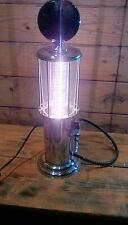 upcycled PETROL PUMP DRINKS DISPENCER   lamp