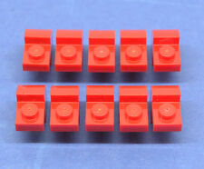 LEGO 10 x circa pietre Arco pietre 2x1x1 Rosso | Bow Brick with arch 6091 609121