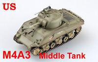 Easy Model 1/72 U.S Army M4A3 Sherman Middle Tank Model #36256