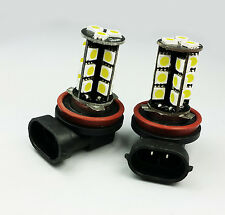 H11 27 SMD CAN BUS LED FRONT FOG CAR BULBS E