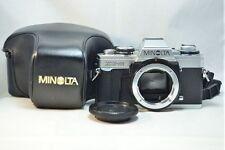 Minolta Analogkamera Bundle mit Tasche