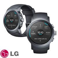 LG Watch Sport™- W281 Android Wear 2.0 Smart Watch--Titan Sliver