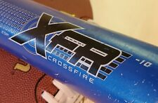"Franklin XFR Crossfire Youth Baseball Bat. 25"" 15 oz. Blue. Used, good condition"