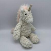 MARY MEYER Plush Putty Unicorn Pink Mane Toy Stuffed Animal Original Tags Soft