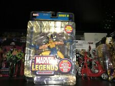 WOLVERINE WITH GOLD FOIL POSTER MARVEL LEGENDS SERIES III (3) RARE NIP TOYBIZ