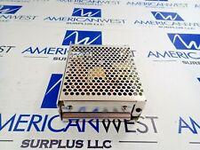 MEANWELL S-40-15 POWER SUPPLY INPUT 100-240VAC 1.2A OUTPUT +15V-2.8A