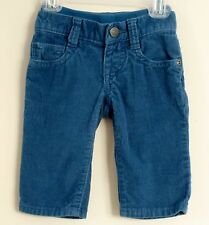 babyGAP Size 3-6 Months Boys Corduroy Pull-On Aspen Blue Jeans