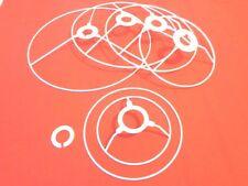 """CHOOSE 1 - 2 - 5 CYLINDER DRUM Frame Ring Sets 10 cm 4"""" wide Lampshade making"""
