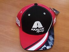 Dale Earnhardt Jr Junior #88 NASCAR Ball Cap Hat NEW Axalta Racing Red Black Wht