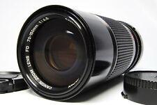 【Near Mint+++】CANON NEW FD NFD 70-150mm f/4.5 Manual Zoom Lens #163