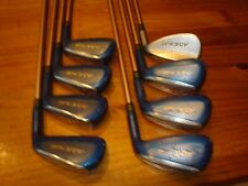 Yonex A.D.X. FL 2.0 Golf Iron Set  LSG400 Ladies Flex Graphite 4-PW, SW