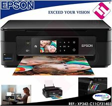 MULTIFUNCION IMPRESORA ESCANER EPSON XP 342 WIFI IMPRESION WIFI + CABLE USB FREE