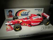 1:43 Minichamps Williams F1 H.H.Frentzen #2 Limited Edition 1 of 3333 pcs. OVP