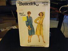 Butterick 5676 Misses Dress, Top & Skirt Pattern - Size 10 Bust 32 1/2 Waist 25