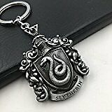 Harry Potter Slytherin Keychain (Silver)