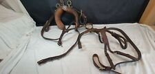 Part Set Carriage Driving Harness Leather Tack