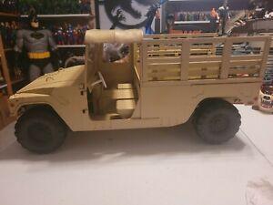 21st Century Ultimate Soldier 2 DESSERT HUMVEE TROOP CARRIER OPEN CARGO 1/6