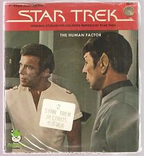STAR TREK lot of 2 records 45 w/pic sleeves SEALED~Starve A Fleaver,Human Factor