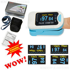 CONTEC OLED Pulse Oximeter Blood Oxygen Monitor SPO2 PR HR CMS50NA FDA US STOCK