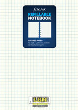 Filofax Refillable NOTEBOOK Refill - A5 size - Squared White Paper 152905