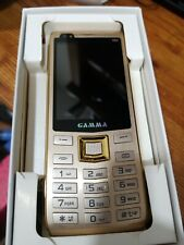 "Unlocked Gamma S11 2.8"" Physical Keypad Senior Unlocked Cell Phone (Gold) Gsm"