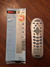 RCA RCR412S UNIVERSAL REMOTE CONTROL
