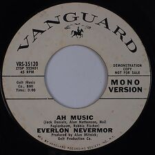 EVERLON NEVERMOR: Ah Music USA VANGUARD Mono Stereo DJ PROMO '70 Psych 45