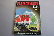 X062 FLEISCHMANN Train catalogue Ho N Rallye Monte Carlo 1983 84 160 pages F