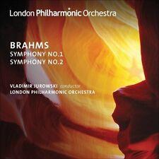 Vladimir Jurowski, J. Brahms - Symphonies Nos 1 & 2 [New CD]