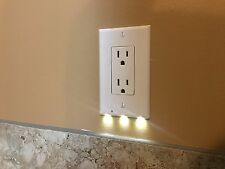 SnapPower Decora Style Outlet Cover with Night Light in White *PLEASE READ*