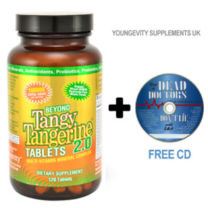 Beyond Tangy Tangerine 2.0 Tablets, Organic Multi Vitamin FREE 2 DAY DELIVERY