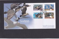 South Georgia 2012 WWF Sea Birds First Day Cover FDC King Edward Point pict pmk