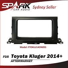 CP Facia Fascia Panel Plate Dash Surround Trim 2 DIN For Toyota Kluger 2014+