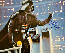 Dave Prowse Authentic Signed Star Wars Darth Vader 16x20 Photo - Becket BAS COA