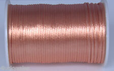 10yard complexion 2MM Rattail Satin Cord Macrame Beading Nylon Chinese knot rope