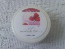 Avon Naturals renewing raspberry moisturising body yogurt 200ml