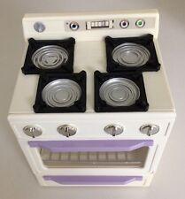 Tyco Kitchen Littles STOVE Oven KITCHEN Range Barbie Dolls VINTAGE