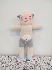 Adorable, Soft Knit Stuffed Sheep Plush Toy by blabla