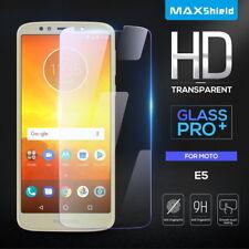 Genuine Maxshield Tempered Glass Screen Protector For Motorola Moto E5 G6 Play
