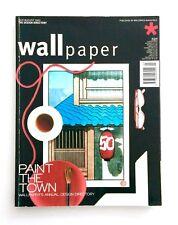 WALLPAPER* Magazine No #50 JULY / AUGUST 2002 Piero Fornasetti HENRY KLUMB Rare!