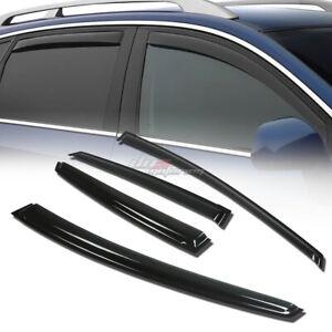 FOR 10-14 PRIUS XW30 4DR SMOKE TINT WINDOW VISOR SHADE/VENT WIND/RAIN DEFLECTOR