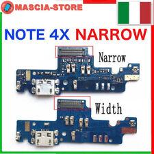 Flex Usb CONNETTORE CARICA RICARICA MICROFONO per XIAOMI REDMI NOTE 4X NARROW