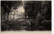 POLISY Aube CPA 10 le chateau