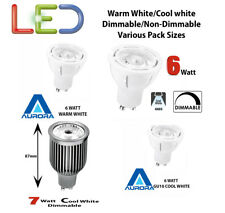 Aurora LED Bulb 7w Dimmable 4000k Natural White. 240v Gu10.