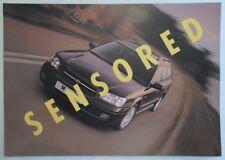 SUBARU LEGACY with VDC orig 1998 1999 UK Mkt Sales Brochure